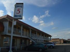 Circle 5 Motel, Olds