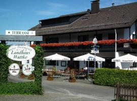 Landhaus Wuttke, Wildbergerhütte