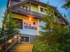 Vila Veverita, Borsec