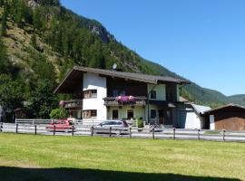 Haus Ingrid - Ferienwohnung zum Klettersteig, Längenfeld