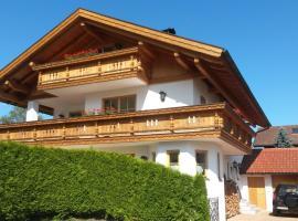 Maisonette Apartment mit Bergblick, Unterammergau