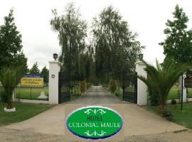 Hotel Colonial Maule Villa Alegre, Villa Alegre