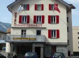 Hotel Schweizerhaus, Coira