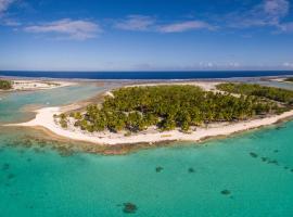Fafarua Ile Privée Private Island, Tikehau