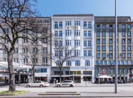 ノヴム ホテル クロンプリンツ ハンブルク ハウプトバーン