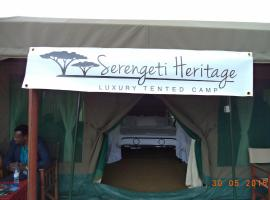 Serengeti Heritage Luxury Tented Camp, Robanda