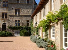 Château de Tanay B&B, Saint-Didier-de-Formans