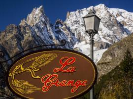Hotel La Grange, Courmayeur