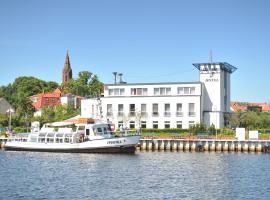 HafenHotel PommernYacht, Ueckermünde