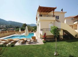 Holiday Home Korfos; Korinthos with a Fireplace 09, Kórfos