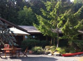 Seal Beach Cottage, Mayne Island