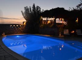 Villa Santa Mavra, Glinado Naxos