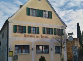 Hotel Garni Pension Zur Krone, Hilpoltstein