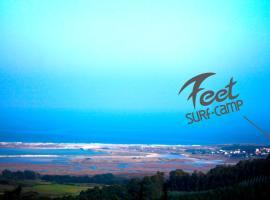 7FeetSurfCamp, Sande