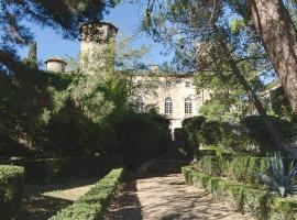 Château d'Agel Chambres d'hôtes, Agel
