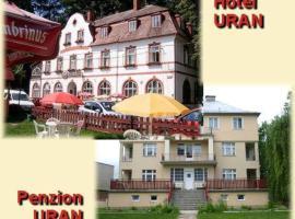 Hotel Uran, Stráž pod Ralskem
