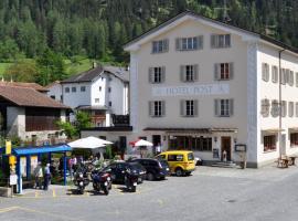 Hotel Post, Andeer