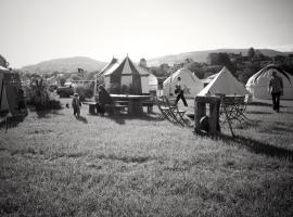 Festivals Under Canvas - Hay Festival, Hay-on-Wye