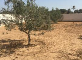 Renovated Djerbian farm, Taguermess