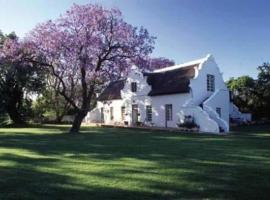 Palmiet Valley Wine Estate & Boutique Hotel, Paarl