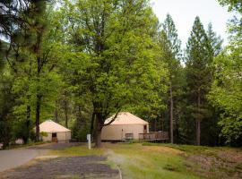 Yosemite Lakes Hillside Yurt 1, Harden Flat