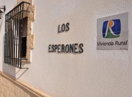 Casa Los Esperones, Rute