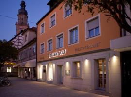 Altstadthotel Grauer Wolf, Erlangen