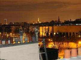 Paris Belle Vue 4 personnes, Saint-Mandé