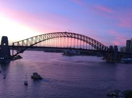 Harbour Bridge and Opera House View