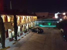 Hotel del Rey, San Pablo Apetatitlán