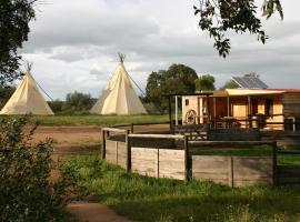 Ranch do Novo Mundo, Vila de Frades