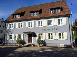 DIE KRONE - Hotel Garni, Kirchzarten
