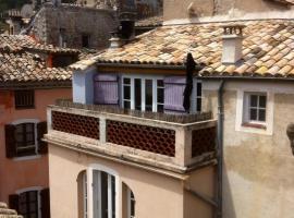 La Chambre 21, Entrevaux en Provence, proche de Nice, Entrevaux