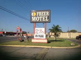 Freer Motel, Freer