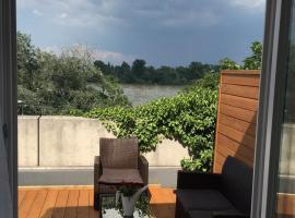 Apartment 'Rheinblick' mit grosser Terrasse, Magonza
