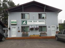 Fair Isle Motel, Whycocomagh