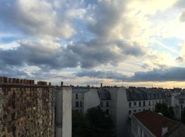 Apartment on the roofs of Paris, Pariis