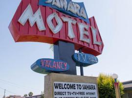 Sahara Motel, Анахайм