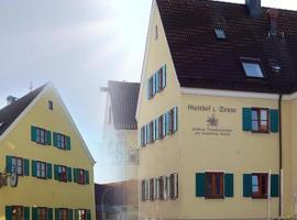 Gasthof zur Sonne, Jetingenas-Šepachas