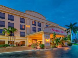 Hampton Inn Palm Beach Gardens, حدائق شاطئ بالم