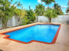 Large Miami Home with Pool and Barbeque, Miami