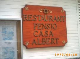 Pensió Casa Albert, Sant Carles de la Ràpita