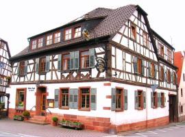 Goldner Engel, Restaurant - Hotel - Metzgerei, Laudenbach
