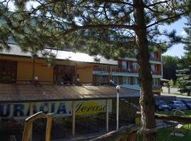 Hotel Jazero, Vinné