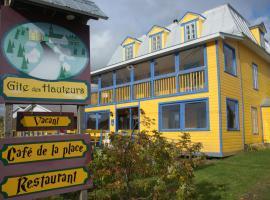 Gîte des Hauteurs et Café de la place, Saint-Zénon