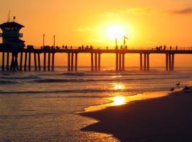SUNSET BEACH HOUSE: STEPS TO BEACH!!, شاطئ هنتنغتون
