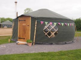 Cheshire Farm Yurts, Hough Green