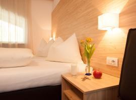 Hotel Stifter, Lutago