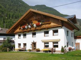 Haus Alpenglühen Krumpens, Längenfeld