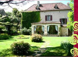 Maison d'Hotes Le Clos de la Roseraie, Saint-Martin-Labouval